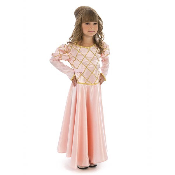 Маскарадный костюм Принцесса (чайная роза)  арт. 102 009 126