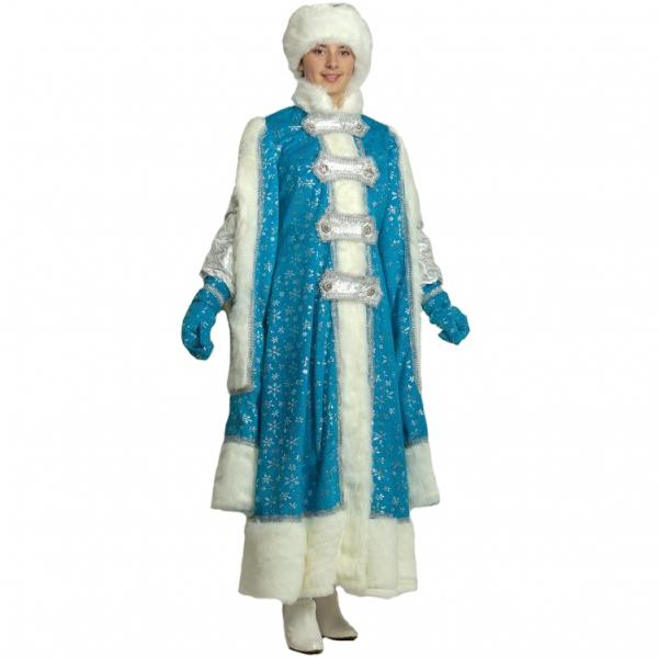 Карнавальный костюм Снегурочка Боярыня