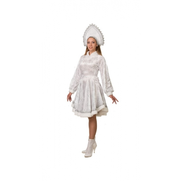 Костюм Снегурочка Амалия белая