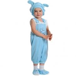 Карнавальный костюм Кролик голубой
