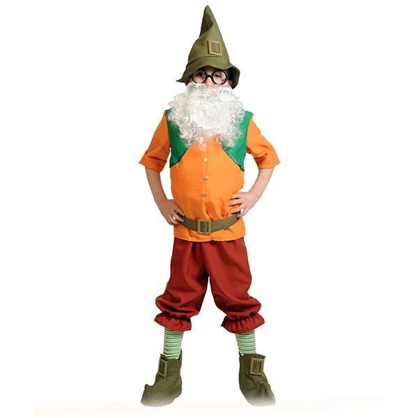 Карнавальный костюм Гном Всезнайка (с накладным животом) k5064