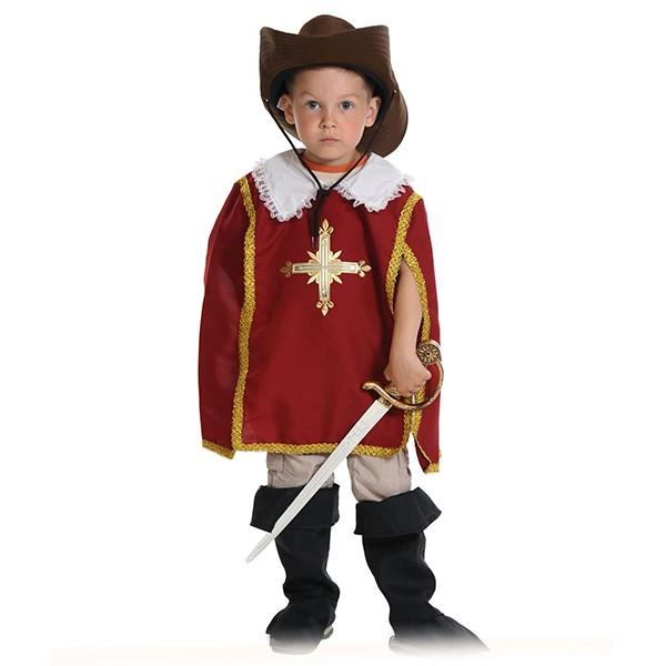 Карнавальный костюм Мушкетер красный k5123