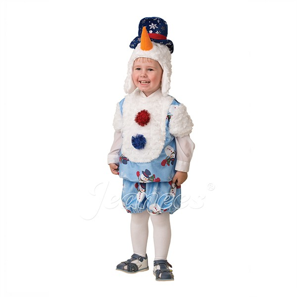 Костюм Снеговичок Снежник