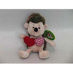 Мягкая игрушка Ежик с сердечками