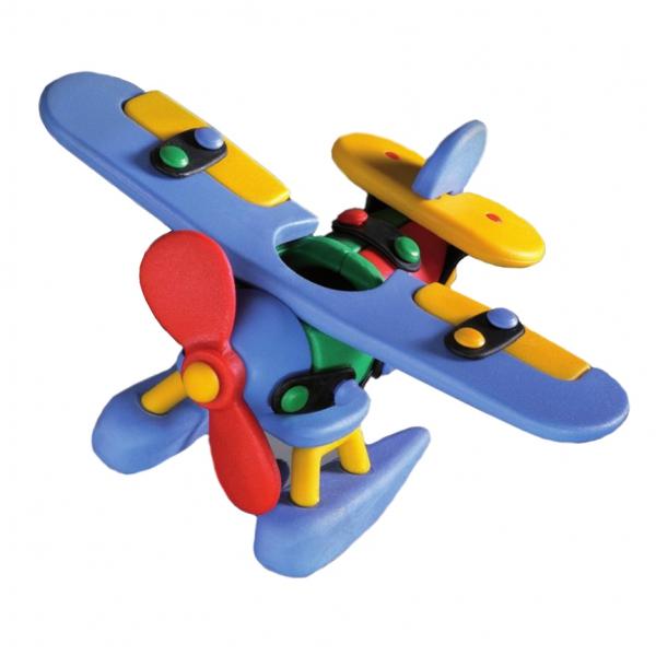 Детский игровой конструктор Гидросамолет
