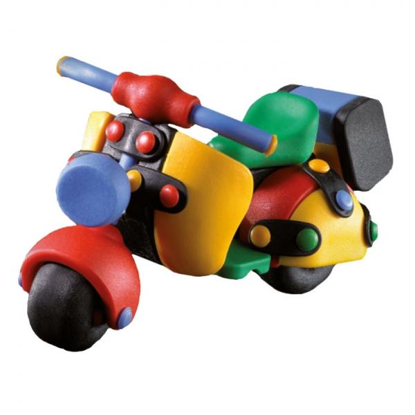 Детский игровой конструктор Скутер