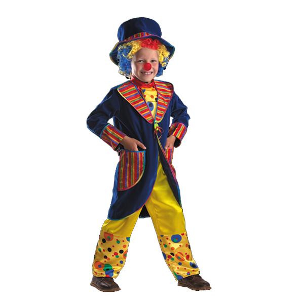 Карнавальный костюм Клоун Франт (синий) арт.927