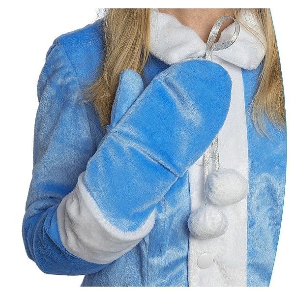 Карнавальный костюм Снегурочка Бархат