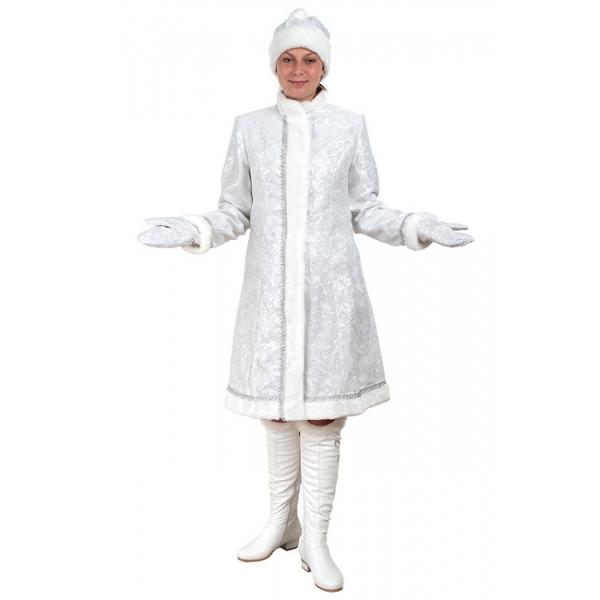 Снегурочка Класcическая сантун белый