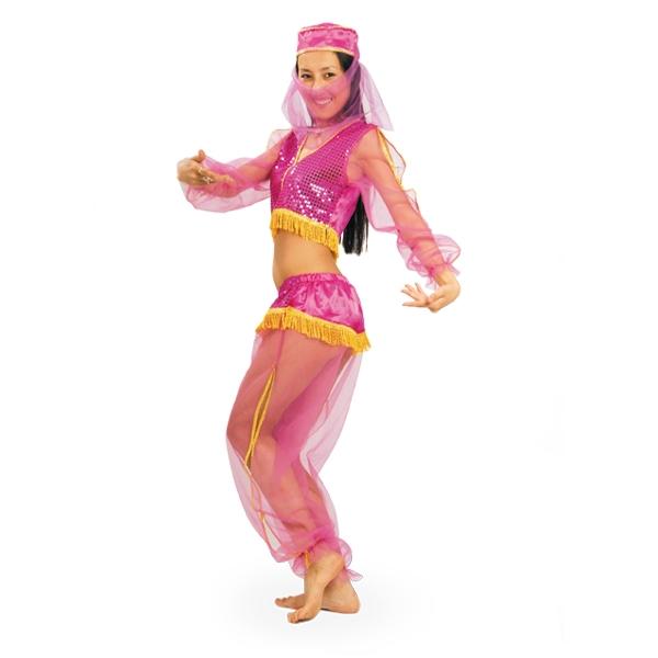Карнавальный костюм Жасмин розовая