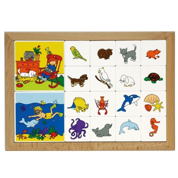 Детская развивающая игра «Домашние питомцы. Обитатели моря» арт. 522109