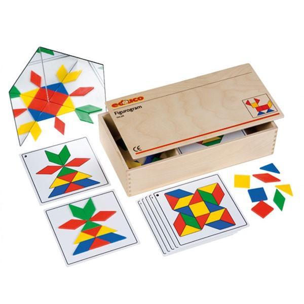 Детская развивающая игра «Фигурограммы» 522231