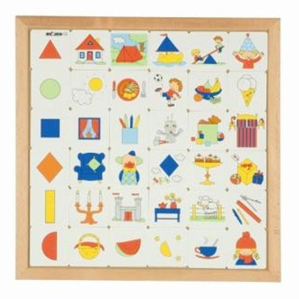 Детская развивающая игра «Геометрические фигуры» арт. 522908