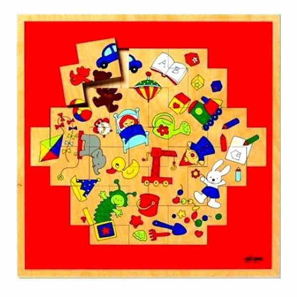 Детская развивающая игра Геометрический пазл «Игрушки»арт. 522874
