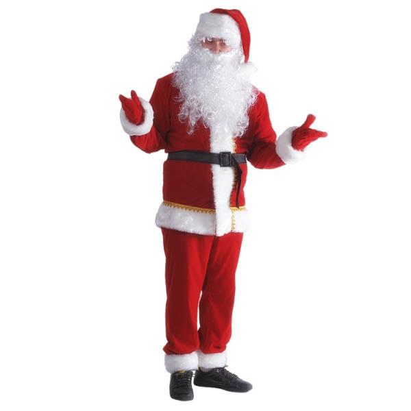 Карнавальный Костюм Санта Клауса бархат