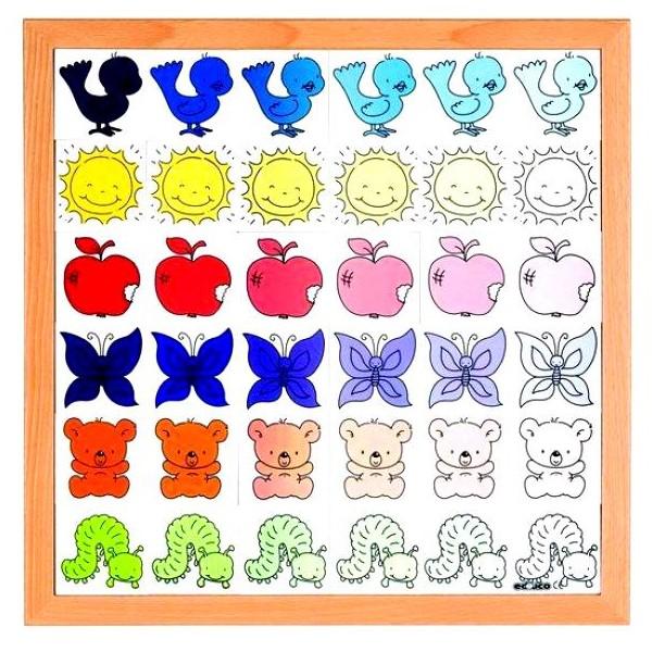 """Детская развивающая Игра """"Цветовые оттенки"""" арт. 522227"""