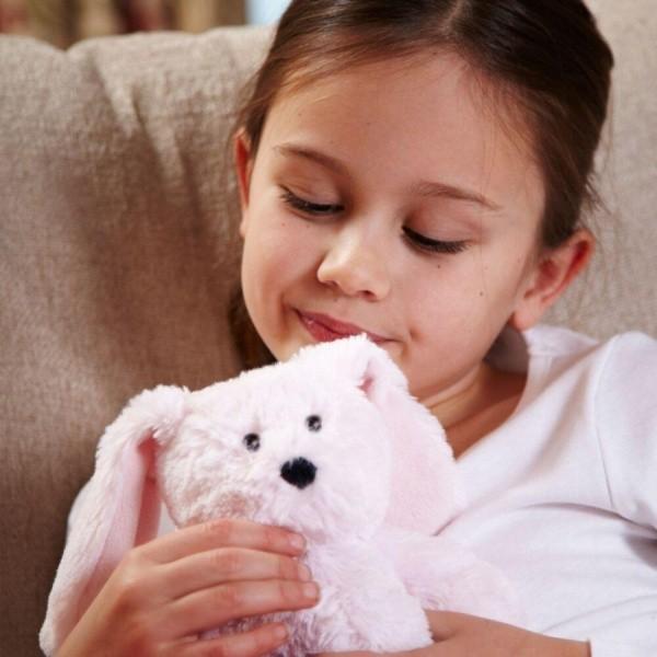 Игрушка грелка Кролик Cozy Plush Junior