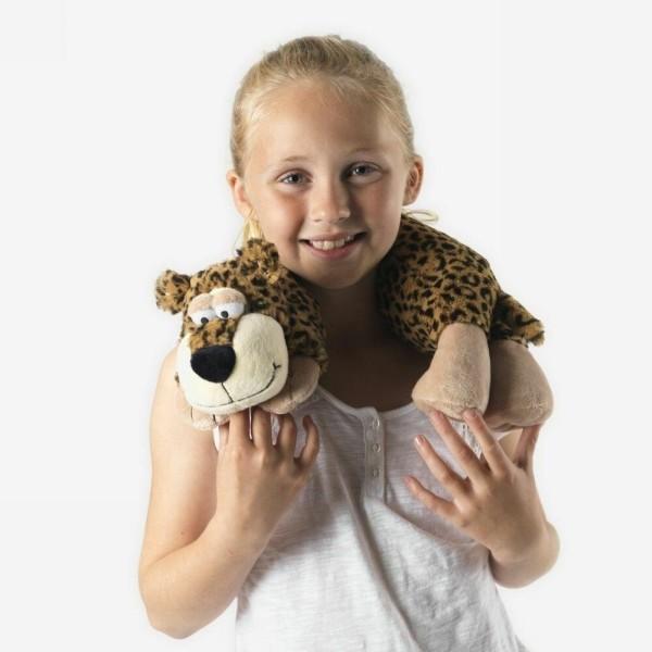 Игрушка шарф грелка Леопард