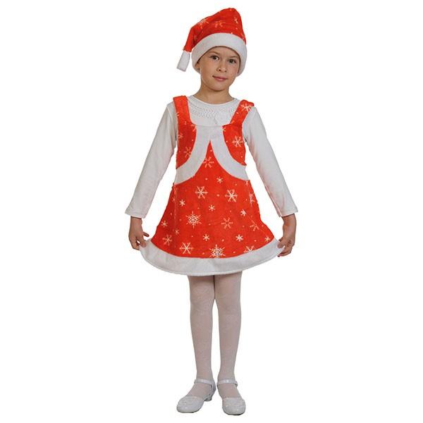 Карнавальный костюм Мисс Санта k3045