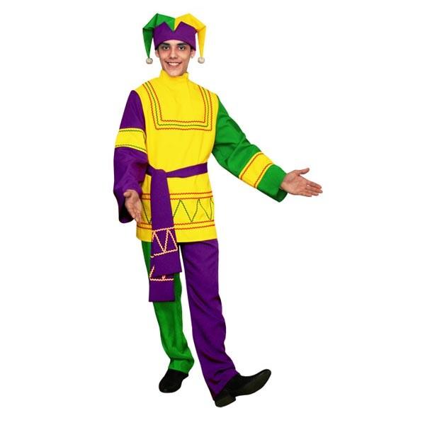 Карнавальный костюм Скоморох арт KKVm-1-28g-f-z
