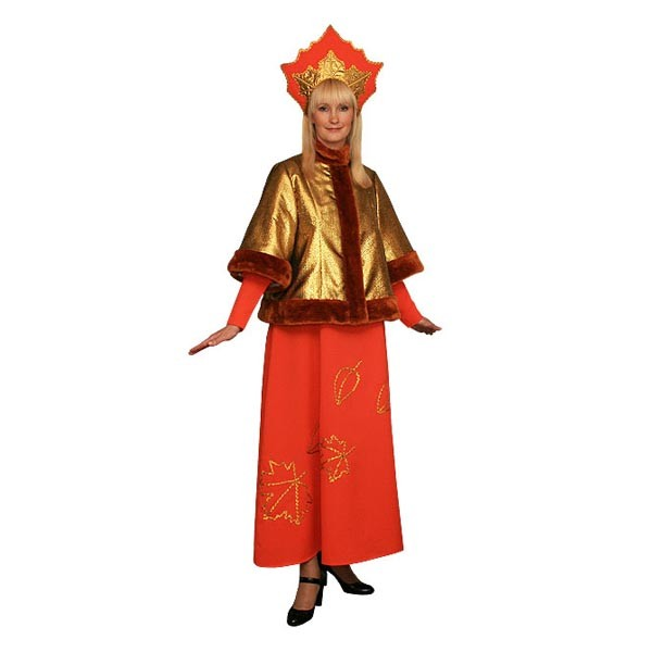 Карнавальный костюм Осень арт KKVd-848-4or
