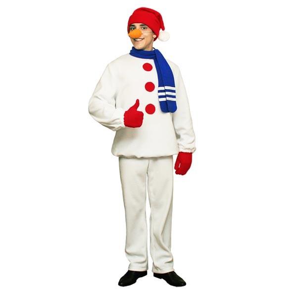 Карнавальный костюм Снеговик арт KKVm-28b