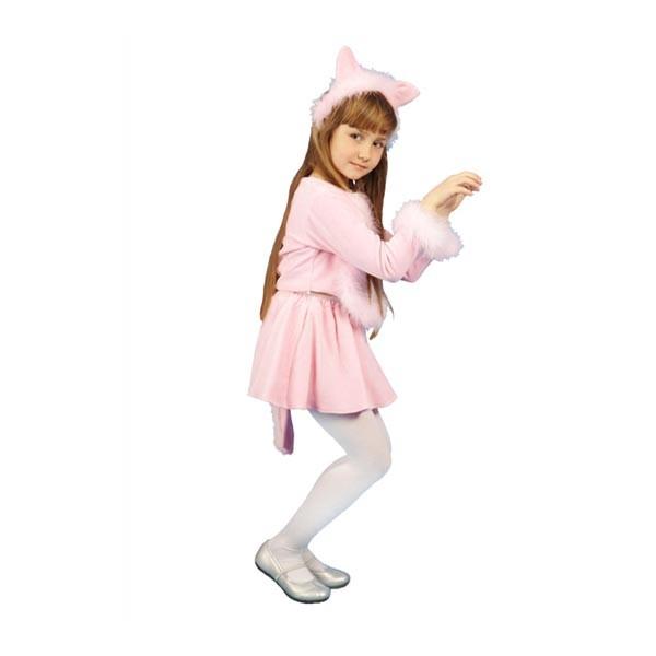 Карнавальный костюм Кошечка (розовый цвет) арт. 103051164