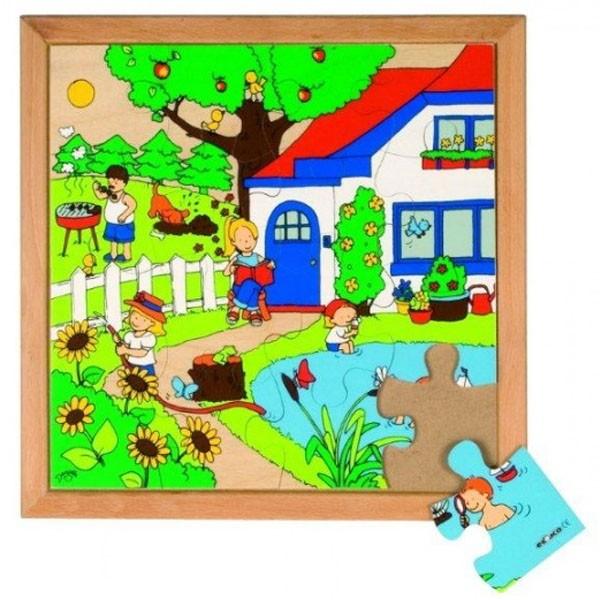 Детская развивающая игра  Пазл «Лето» арт. 522856