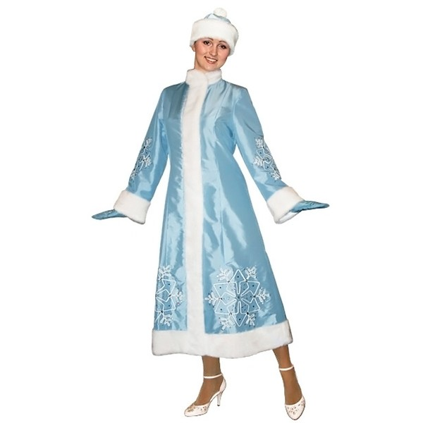 Карнавальный костюм Снегурочки арт S-109g
