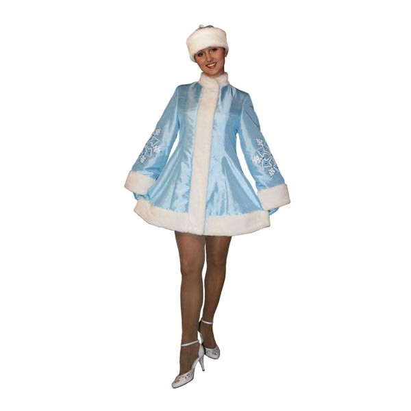 Карнавальный костюм Снегурочки арт SM-109g