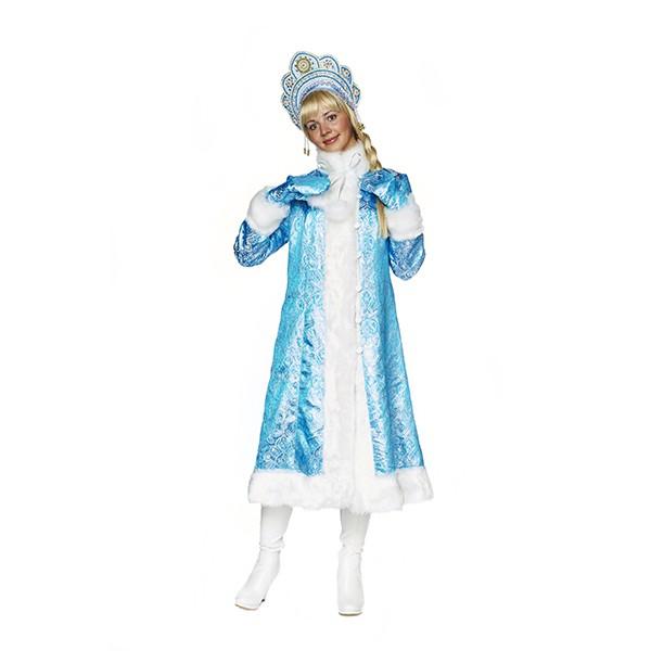 Карнавальный костюм Снегурочка Морозное утро