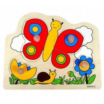Детская развивающая игра Пазл-вкладыш «Бабочка» арт. 10128