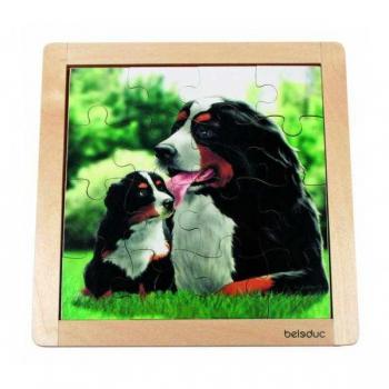 Детская развивающая игра Пазл в рамке «Собака» арт. 10134
