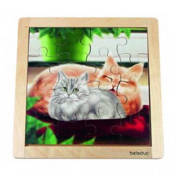 Детская развивающая игра Пазл в рамке  «Кошка» арт. 10135