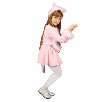 Маскарадный костюм Кошечка (розовый цвет) арт. 103003105