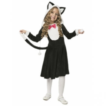 Карнавальный костюм Кошечка (черный цвет) арт. 103 050