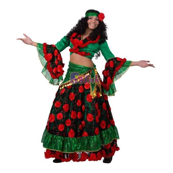 Карнавальный костюм Цыганка арт.1137-4