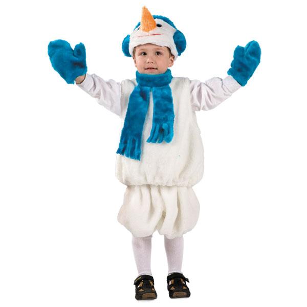 Карнавальный костюм Снеговик мех