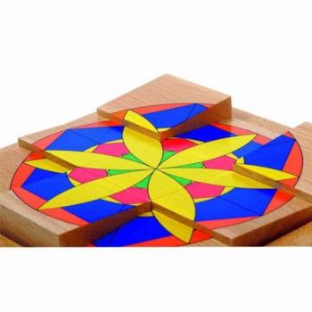 Детская развивающая игра Пазл в рамке «Цветок» арт. 16109