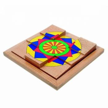 Детская развивающая игра Пазл в рамке «Звезда» арт. 16110