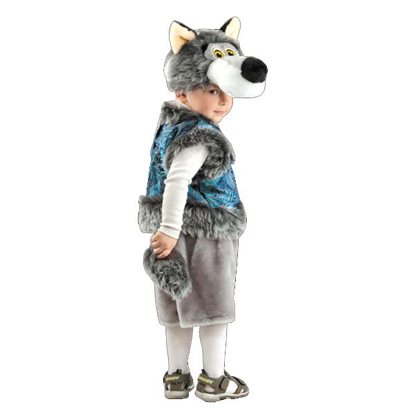Карнавальный костюм Серый Волк арт. 205