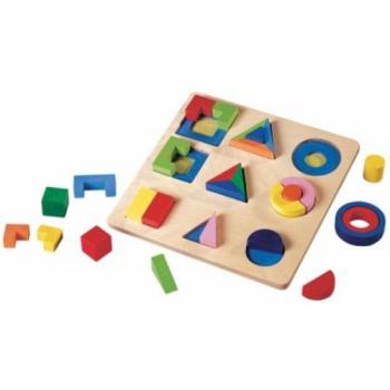 Детская развивающая игра Сортер с геометрическими фигурами