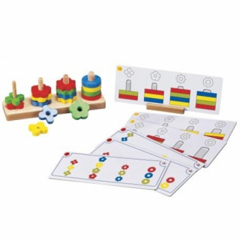 Детская развивающая игра Стенд Цвета и формы