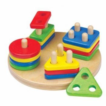 Детская развивающая игра Сортер с колышками