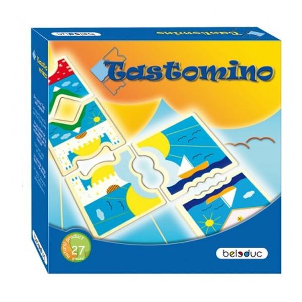 """Детская развивающая игра Домино """"Тастомино"""" арт. 22314"""