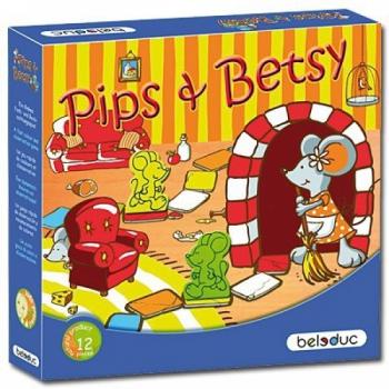 Детская развивающая Настольная игра Пипс и Бетси арт. 22321