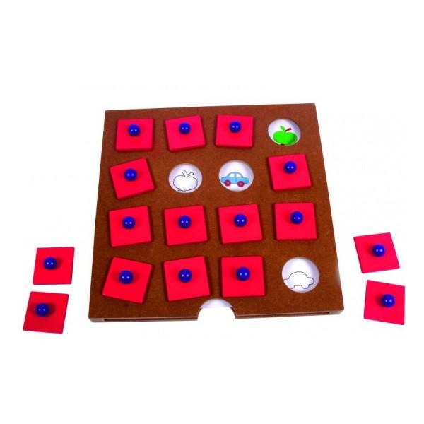 Детская развивающая Настольная игра для развития памяти «Запоминалка»  арт. 23626