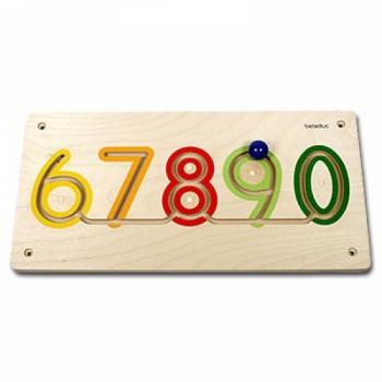 Детская развивающая Настенная игра «Цифры от 6 до 0» арт. 23627