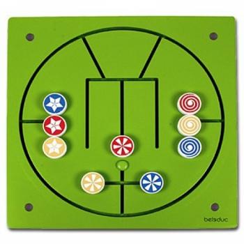 Детская развивающая Настенная игра «3 в ряд» арт. 23628