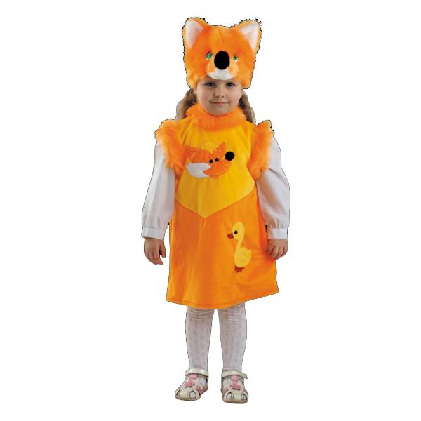 Маскарадный костюм Лисичка Линда арт.266